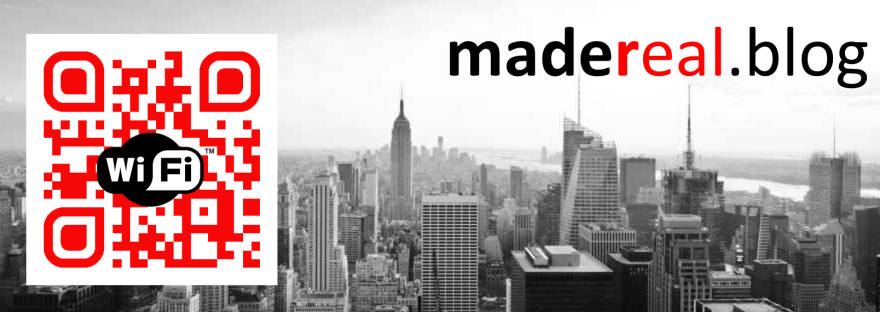 qr code & share wifi – madereal – enterprise mobility